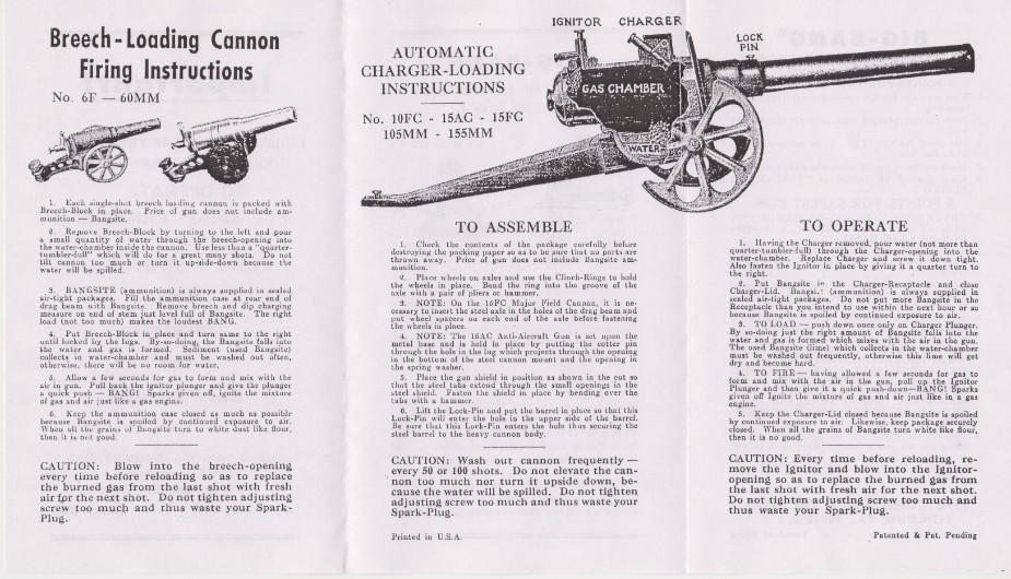 big bang cannon history