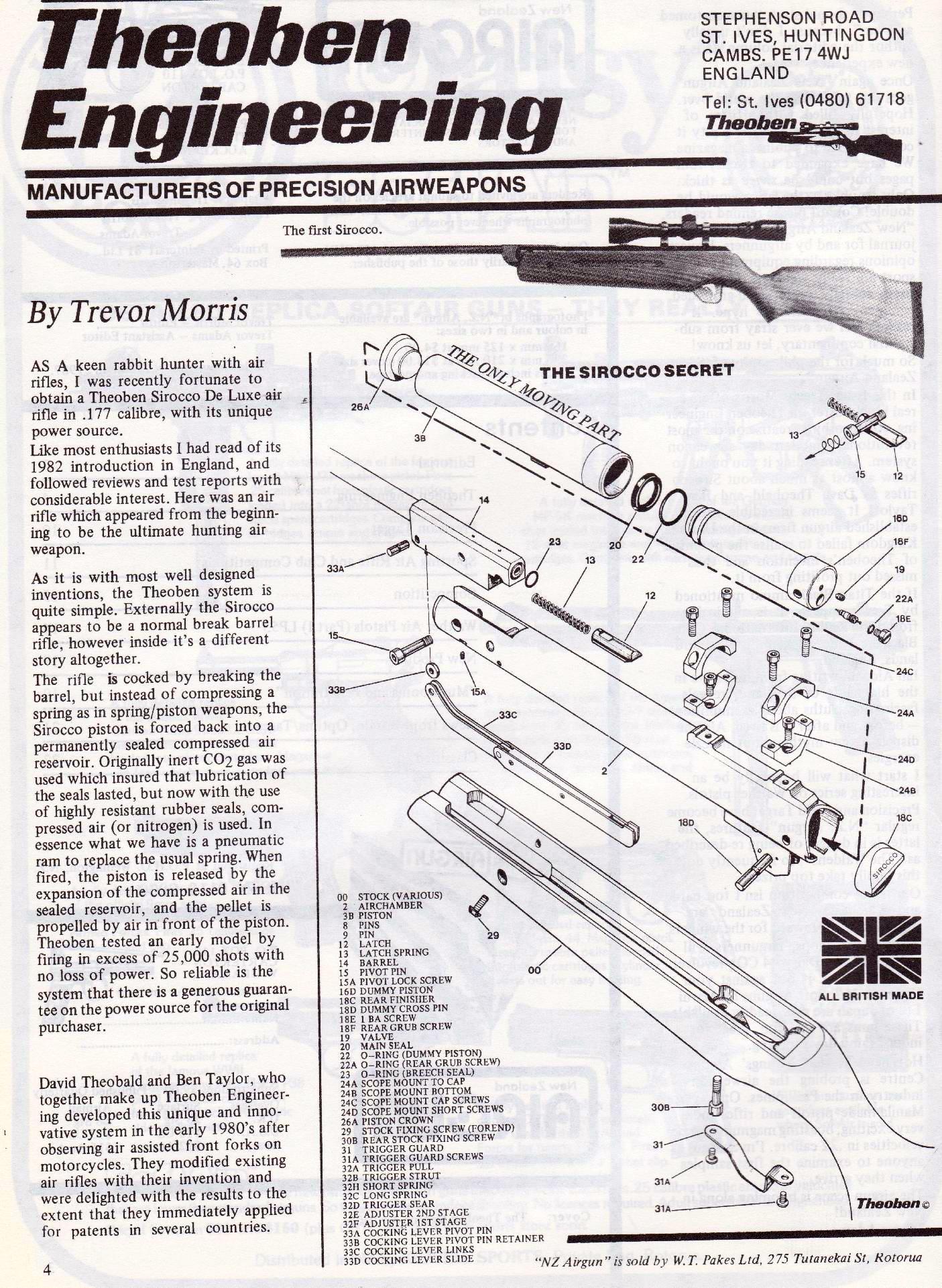 Trev U0026 39 S Airgun Scrapbook